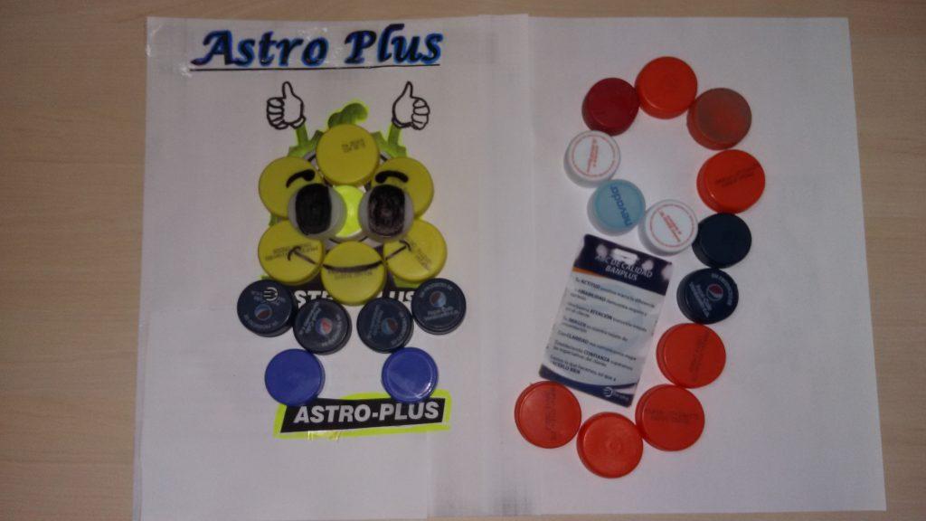 astro plus medios de pago 1024x576 - En Banplus sumamos energía y creatividad con tapitas de plástico
