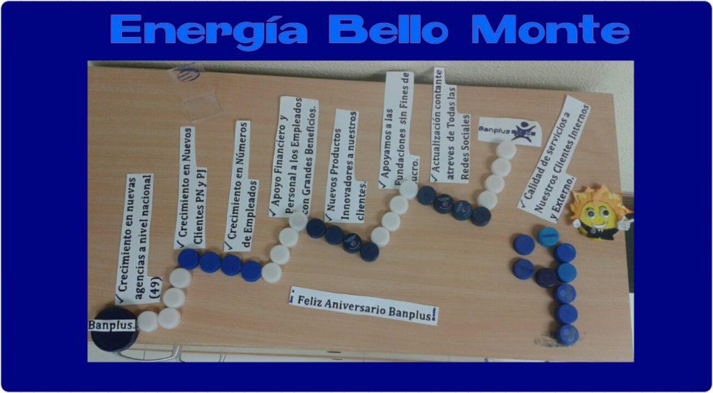 energc3ada bello monte 1 1024x565 - En Banplus sumamos energía y creatividad con tapitas de plástico