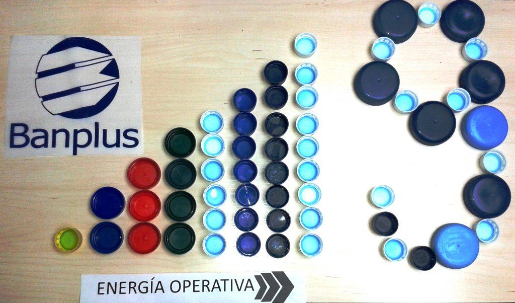 energc3ada operativa 1024x602 - En Banplus sumamos energía y creatividad con tapitas de plástico