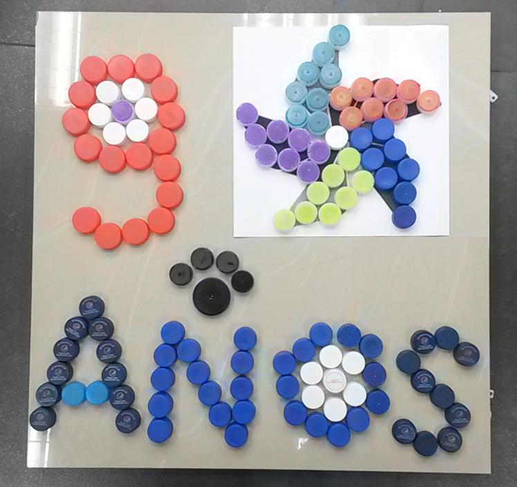 inspiracic3b3n por tapas coordinacion de servicios generales 2 - En Banplus sumamos energía y creatividad con tapitas de plástico