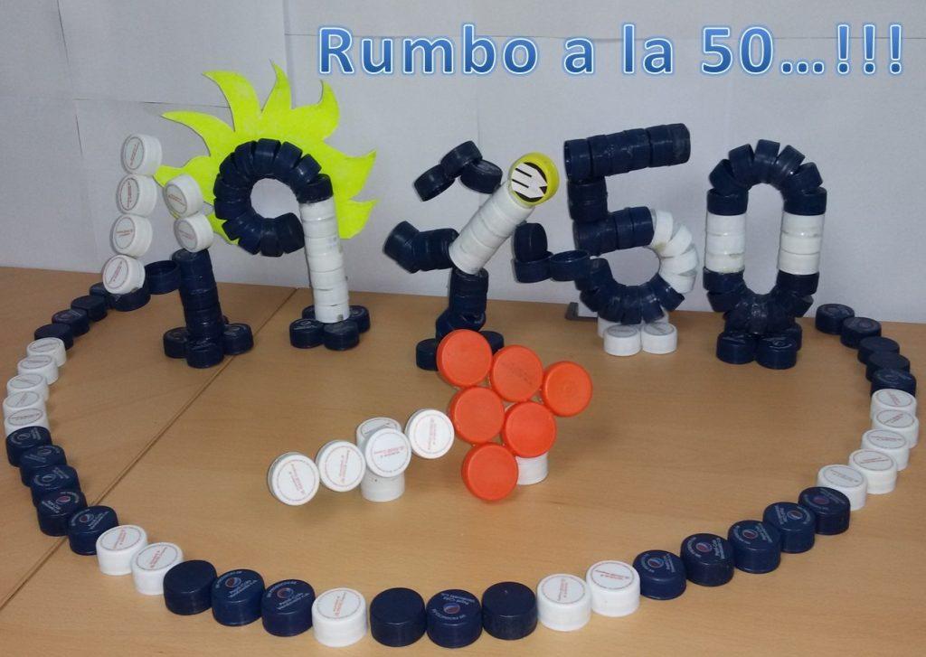 rumbo a la 50 operaciones de crc3a9dito 1024x727 - En Banplus sumamos energía y creatividad con tapitas de plástico