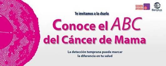 """imagen de correo interno - SenosAyuda dictó en Banplus la charla """"El ABC del cáncer de mama"""""""