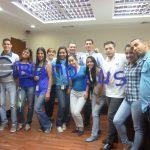 p1050149 150x150 - En la familia Banplus nos vestimos de azul para unirnos a la lucha contra el Cáncer de Colon