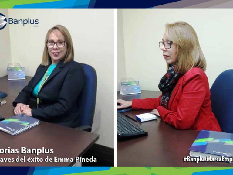 emma pineda storytelling collage 768x576 - Historias Banplus | Claves de éxito de Emma Pineda: responsabilidad y compromiso