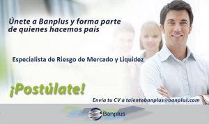 Especialista de Riesgo de Mercado y Liquidez Blog 300x178 - Vacantes de empleo en Banplus, enero 2019