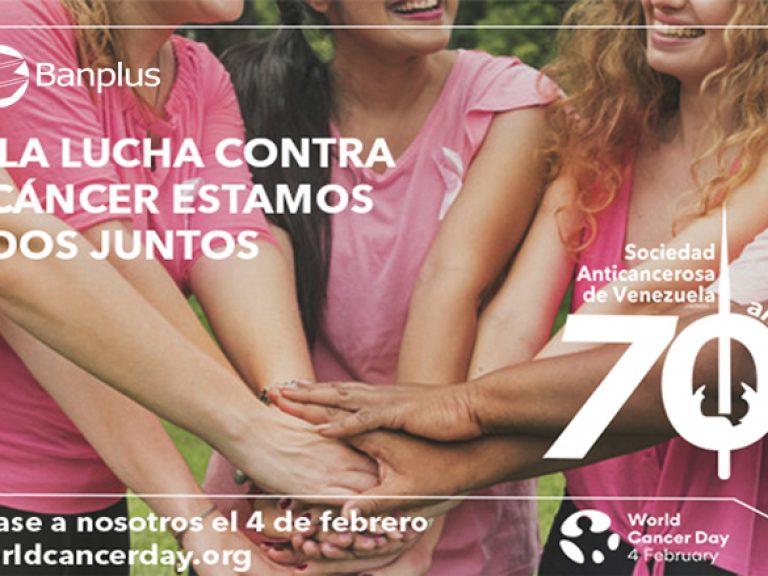 Día Mundial Contra el Cáncer 768x576 - Banplus se une a la lucha mundial contra el cáncer