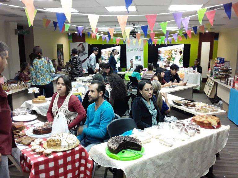 bazar día del padre 5 768x576 - Como familia Banplus, realizamos bazar Día del Padre con talentos venezolanos