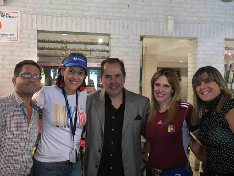 4. Agasajo Banplus. Día del Periodista 2019 768x576 - Banplus homenajeó a los periodistas en su día con partido de la Copa América 2019