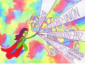Chica PLus5 300x225 - Con la familia Banplus  ¡Dibujamos País! para seleccionar al superhéroe del Plan Vacacional 2019