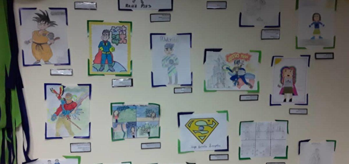 Exposición Dibujamos País 1200x565 - Con la familia Banplus  ¡Dibujamos País! para seleccionar al superhéroe del Plan Vacacional 2019