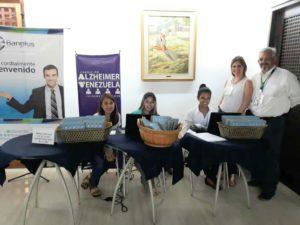 equipo Banplus en Bingo Fundación Alzheimer 300x225 - La Gran tarde de Bingo a beneficio de la Fundación Alzheimer de Venezuela contó con nuestro apoyo