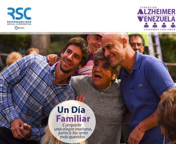 Dia familiar con Fund alzheimer  600x490 - En el Mes Mundial del Alzheimer, hablemos sobre esta enfermedad
