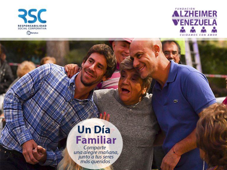 Dia familiar con Fund alzheimer  768x576 - En el Mes Mundial del Alzheimer, hablemos sobre esta enfermedad