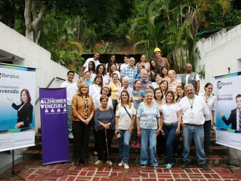 IMG 0177 768x576 - Voluntariado Plus y Fundación Alzheimer de Venezuela compartieron un Día Familiar con pacientes y familiares