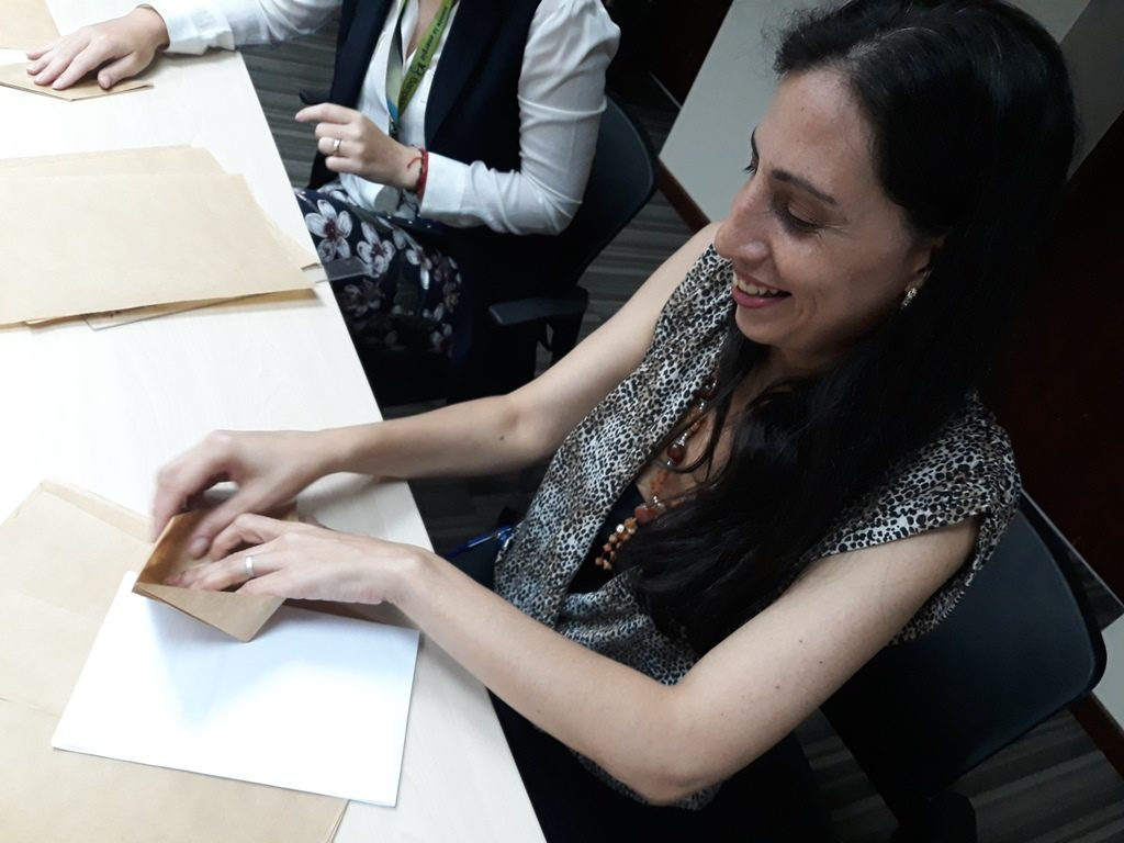 20190828 111157 1024x768 - Capacitamos al Voluntariado Plus con clases de origami