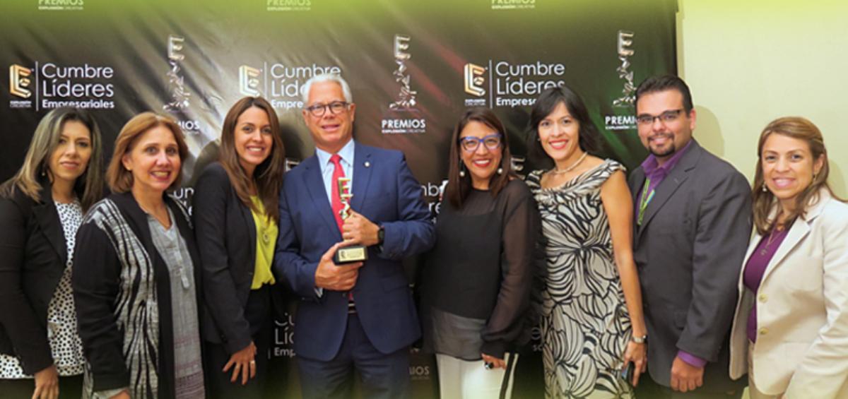 EXPLOSIONCREATIVA 1200x565 - Recibimos el premio: Líder en sector bancario, mención especial Apoyo a la PYME