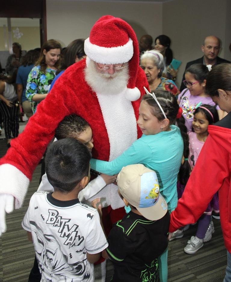 Santa nos visitó 2 2019 - Santa nos visitó | Exaltamos la magia de la Navidad