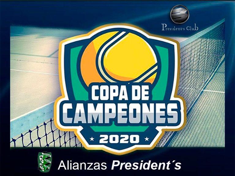 Copa de Tenni 2020 con President´s 768x576 - Apoyamos al deporte | Banplus en Copa de Campeones 2020, Caracas
