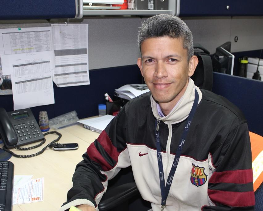 Jorge Barrios - Un equipo con dinamismo, compromiso y unión | Gerencia de Servicios Generales