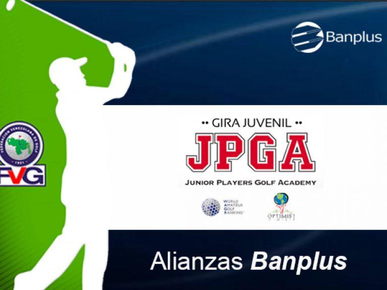 Torneo Golf BANPLUS ajust 400x600 1 768x576 - Nos unimos al Tour Juvenil de Golf JPGA 2020 | Venezuela es sede en Latinoamérica