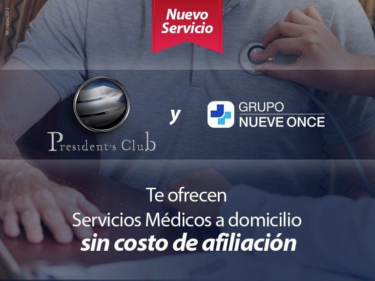 BLOG 911 SERVICIOS DE SALUD PRESIDENTS 768x576 - Grupo Nueve Once, nuevo servicio para miembros de President's Club