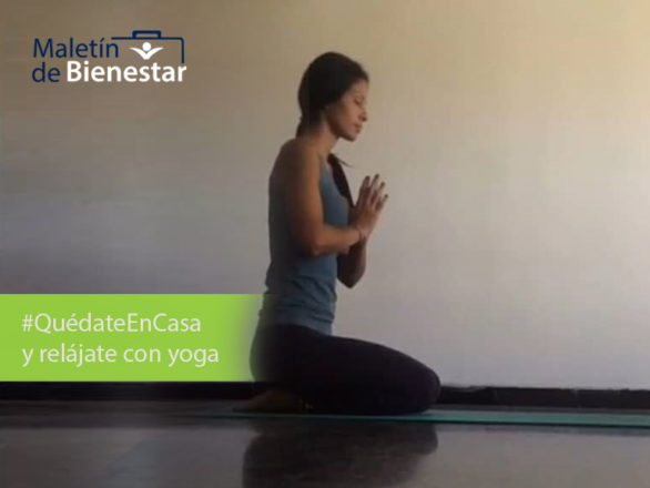 bienestar yoga 586x440 - ¡Podemos hacer yoga en casa! Cuida tu salud en todo momento
