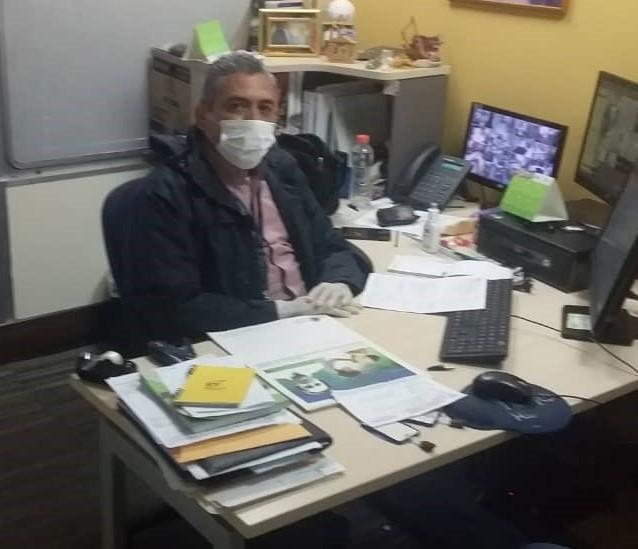 Dia del Trabajador Israel Urbina Seguridad - Nuestra Gerencia de Seguridad | Garante de la operatividad bancaria