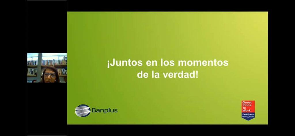 Nahilyn Guzmán VPE Capital Humano Marketiny y Comunicaciones de Banplus 2 1 1024x472 - Parte II. Comunicación en tiempos de Covid-19 | Banplus en webinar de Great Place To Work
