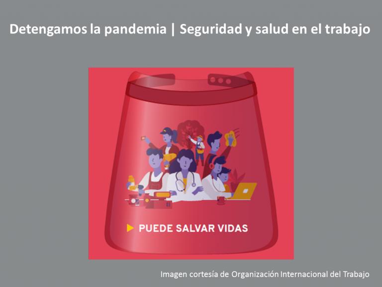 OIT pandemia 768x576 - 28 de abril | Día Mundial de la Seguridad y la Salud en el Trabajo
