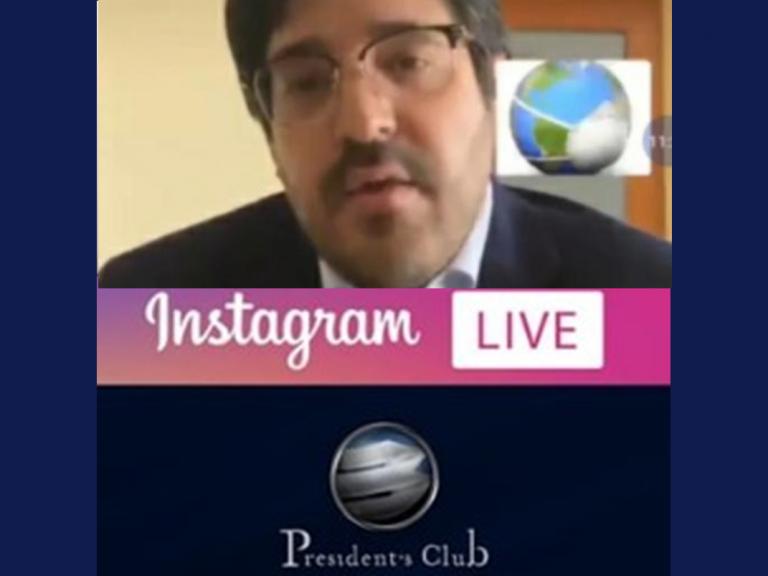 Post IG Live Asdrúbal Oliveros 768x576 - Brindamos asesoría financiera de la mano de Asdrúbal Oliveros | Exclusivo para President's Club