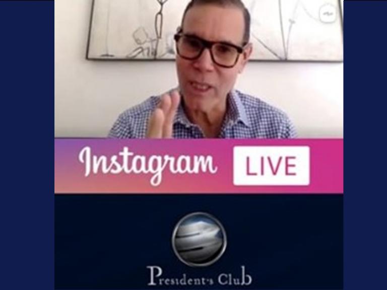 Post IG Live Luis Vicente León 768x576 - Luis Vicente León compartió su óptica política y económica del país | Exclusivo para President's Club