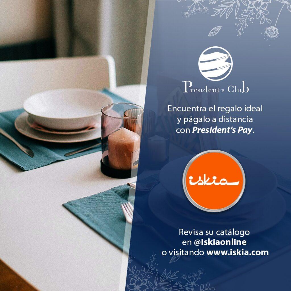 Iskia Presidents Club 1024x1024 - Conoce los privilegios que te brinda President's Pay para el obsequio de mamá