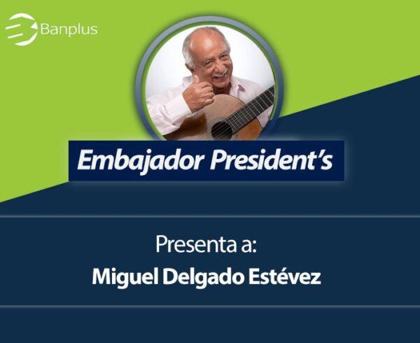 LIVE para Banplus On Line 600x490 - Desde @BanplusOnLine, Miguel Delgado Estévez le cantará a las madres venezolanas