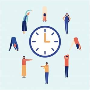 Pausa activa - Te recordamos las medidas de Seguridad y Prevención a la hora del teletrabajo