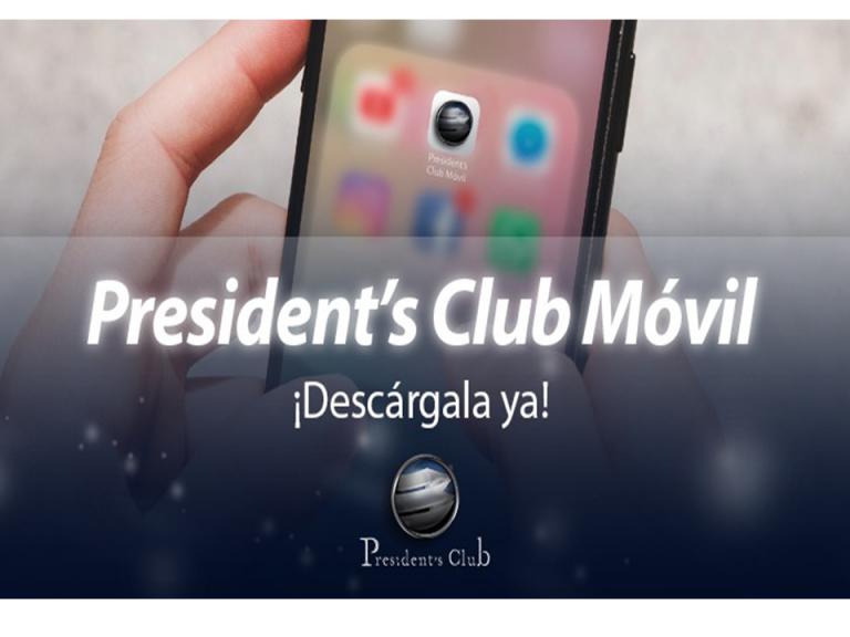 Ajuste APP President para blog 768x576 - ¡Ya está disponible la nueva President's Club Móvil! | Exclusividad para President's Club
