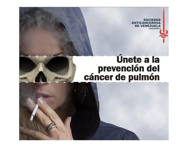 Campaña anti Tabaco ajustada 600x490 - Venezuela recibe premio por Día Mundial sin Tabaco | Aplaudimos a la SAV por su impulso a la campaña