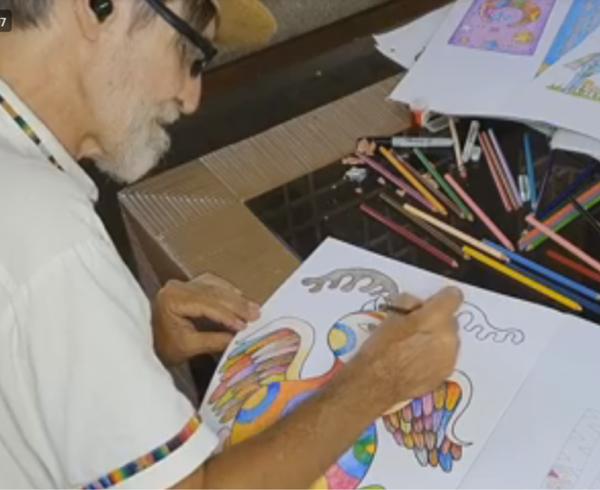 6. Felipe García Taller de Dibujo 16JUL2020 1 600x490 - Durante la pausa escolar, invitamos a los niños al Taller de Dibujo de Alebrijes con Felipe García, artista venezolano