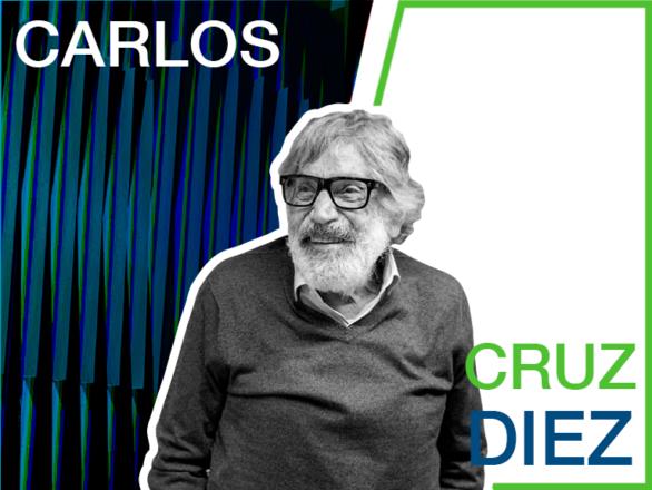 CARLOS CRUZ DIEZ TAMAÑO NUEVO 586x440 - Biografía de Carlos Cruz-Diez | Venezolanos Insignes de la Modernidad 2020
