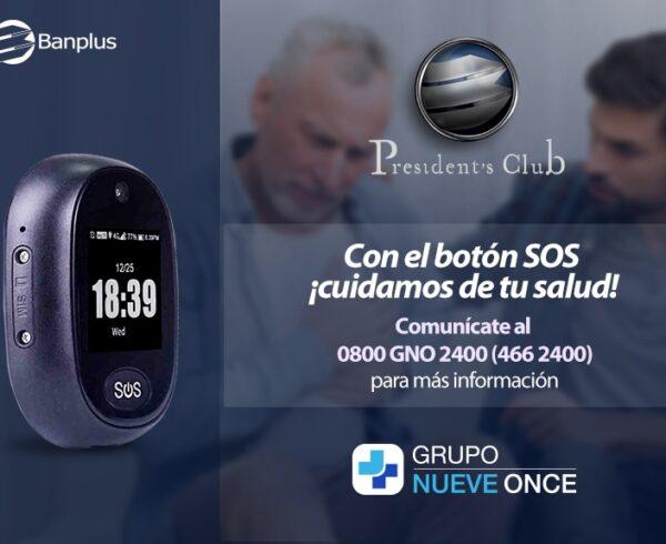 Grupo Nueve Once alido de Banplus 600x490 - Conoce el nuevo Botón SOS del Grupo Nueve Once | Alianza exclusiva para clientes President's Club
