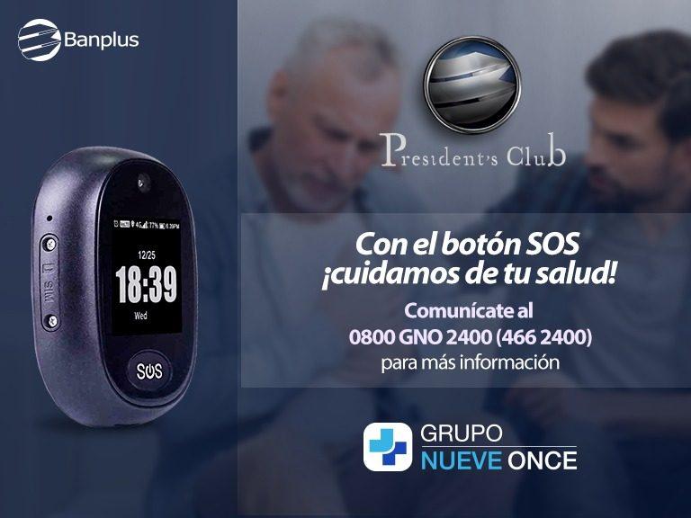 Grupo Nueve Once alido de Banplus 768x576 - Conoce el nuevo Botón SOS del Grupo Nueve Once | Alianza exclusiva para clientes President's Club