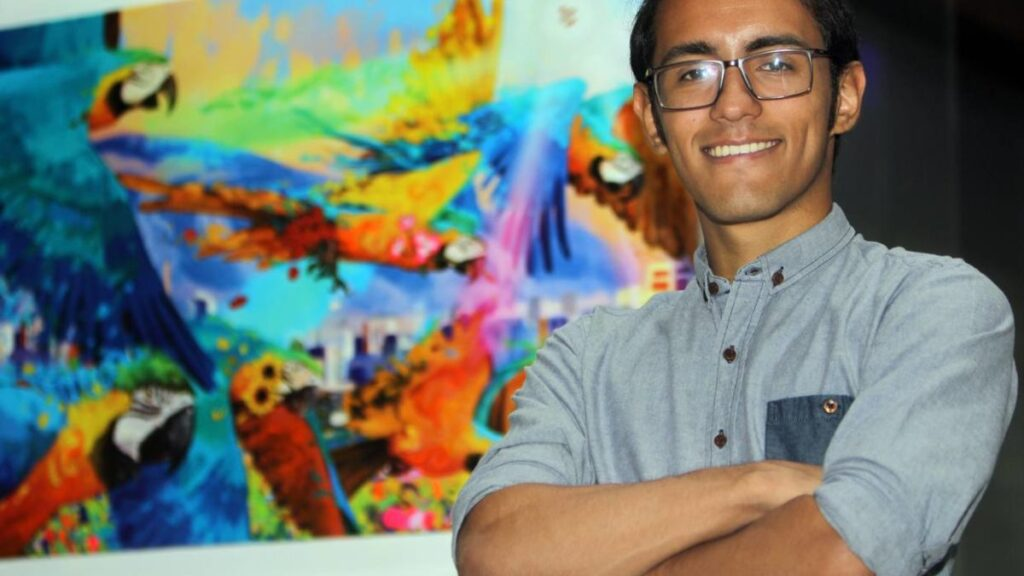 Oscar Olivares con Banplus 1024x576 - Pequeños y grandes de Banplus motivados a descubrir sus talentos | De la mano de Oscar Olivares, artista
