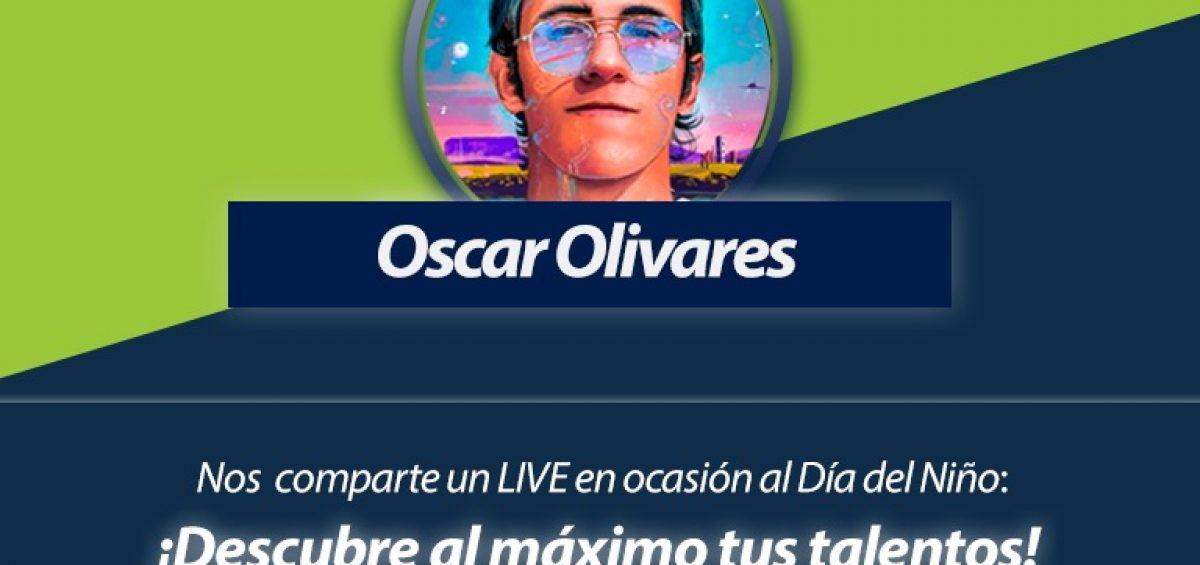 Oscar Olivares en Foro por Banplus On Line 1200x565 - ¡Anota en agenda! Este domingo, Día del Niño, realizaremos Foro en Vivo con Oscar Olivares, artista visual e ilustrador venezolano