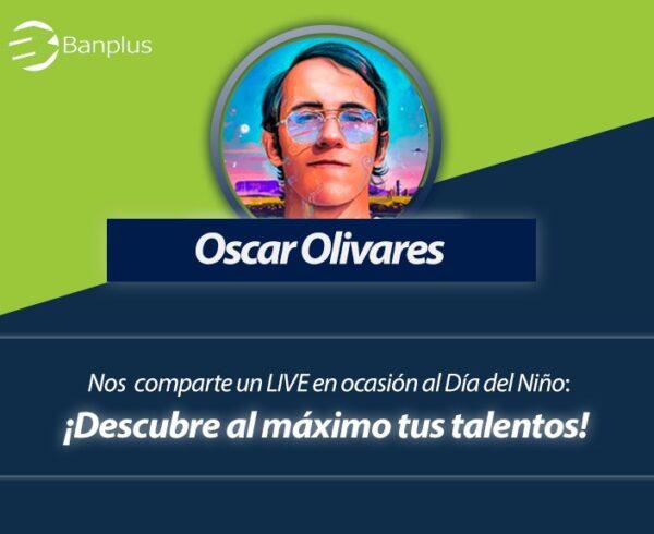 Oscar Olivares en Foro por Banplus On Line 600x490 - ¡Anota en agenda! Este domingo, Día del Niño, realizaremos Foro en Vivo con Oscar Olivares, artista visual e ilustrador venezolano