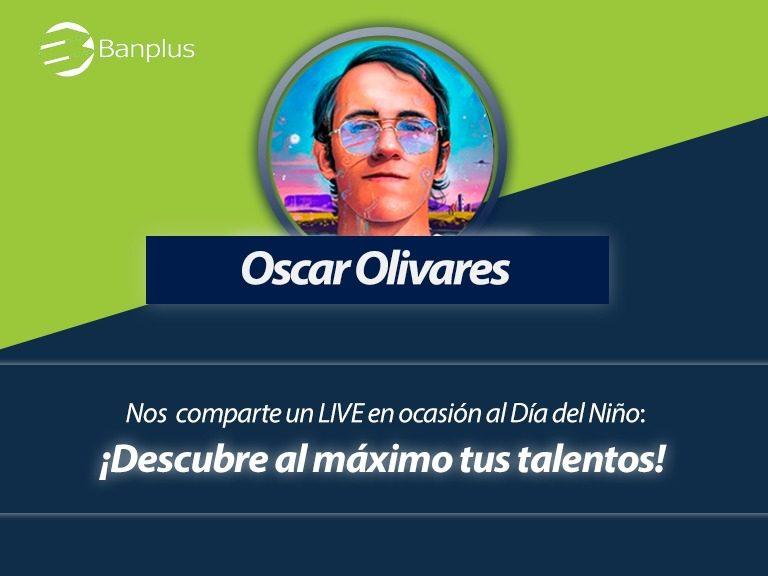 Oscar Olivares en Foro por Banplus On Line 768x576 - ¡Anota en agenda! Este domingo, Día del Niño, realizaremos Foro en Vivo con Oscar Olivares, artista visual e ilustrador venezolano