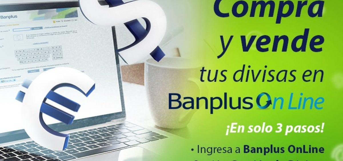 Blog Operaciones de Divisas por Bol 1200x565 - ¡Ya está disponible la compra y venta de divisas en Banplus Online!