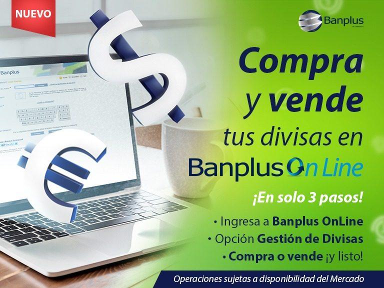 Blog Operaciones de Divisas por Bol 768x576 - ¡Ya está disponible la compra y venta de divisas en Banplus Online!