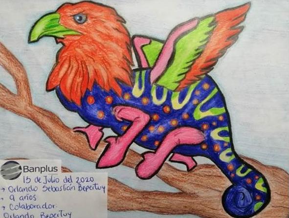 Orlando Bepertuy MH - Pequeños y jóvenes de Banplus demostraron su talento en concurso de dibujos