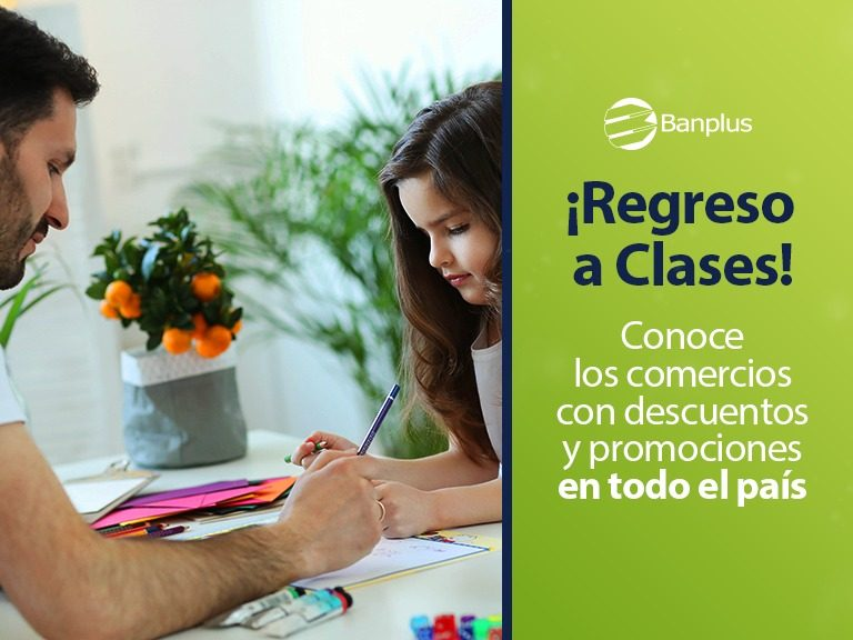 Banplus Vuelta a Clases 768x576 - ¿Ya estás equipado para el regreso a clases? en Banplus te brindamos fabulosas opciones