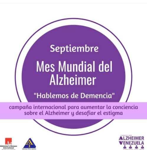 Mes Mundial Alzheimer - En el Mes Mundial del Alzheimer hablemos de demencia