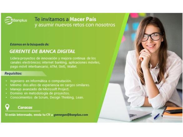 20201014 Vacante Gerente de Banca Digital Blog 586x440 - Buscamos Gerente de Banca Digital | Octubre, 2020